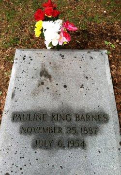 Pauline <i>King</i> Barnes