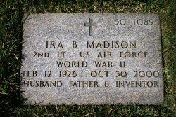 Ira B Madison