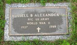 Russell B Alexander