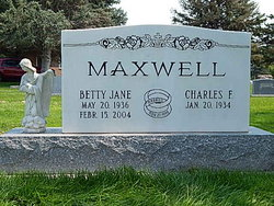 Betty Jane <i>Shultz</i> Maxwell