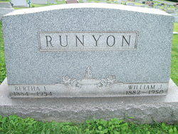 Bertha Jane <i>Lyle</i> Runyon