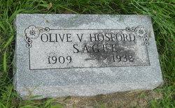 Olive Vivian <i>Hosford</i> Sagee