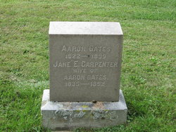 Jane E. <i>Carpenter</i> Gates