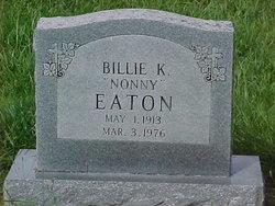 Billie K <i>Kimbrel</i> Eaton