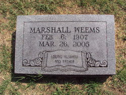 Marshall Weems