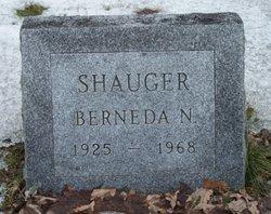 Berneda N Shauger