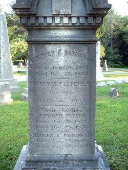 Mary A <i>Fletcher</i> Batchelor