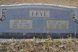 Betty Lou <i>O'Rear</i> Frye