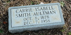 Carrie Isabell <i>Smith</i> Aultman