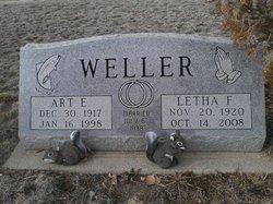 Letha F. <i>Schriner</i> Weller