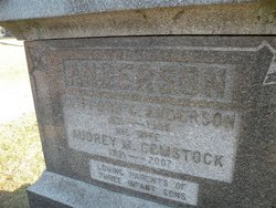 Audrey Margaret <i>Comstock</i> Anderson