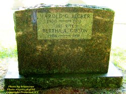 Bertha A. <i>Gibson</i> Becker