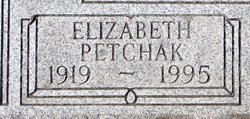 Elizabeth L <i>Zorn</i> Petchak