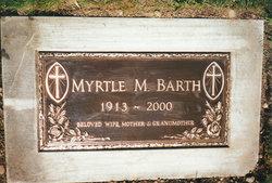 Myrtle Margaret <i>Carlson</i> Barth