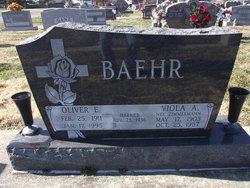Oliver E Baehr