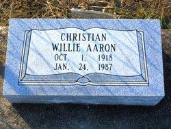 Christian Willie Aaron