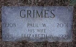 Elizabeth S. <i>Wilson</i> Grimes