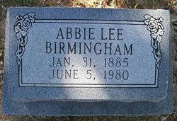 Abbie Lee <i>Sexton</i> Birmingham