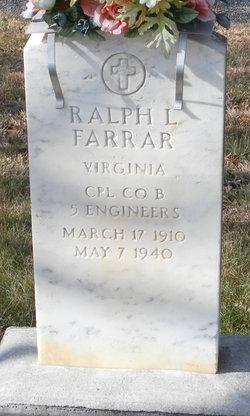 Ralph L Farrar