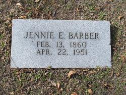 Jennie Elizabeth <i>Earp</i> Barber