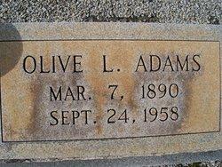 Olive <i>Lott</i> Adams