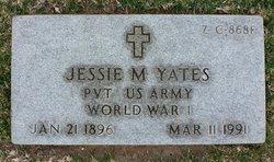 Pvt Jessie Monroe Yates