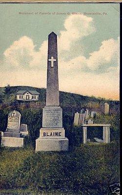Maria <i>Gillespie</i> Blaine