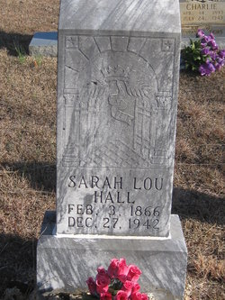 Sarah Lou <i>Guffey</i> Hall