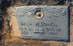 Della A <i>Wilson</i> Stancil