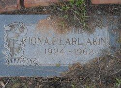 Iona Pearl <i>Williams</i> Akin