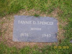 Fannie Dick <i>Smith</i> Spencer