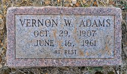 Vernon W. Adams