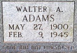 Walter A. Adams
