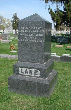 Celinda E. <i>Sergeant</i> Lane