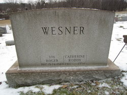 Catherine Theresa <i>Wesner</i> Roddy