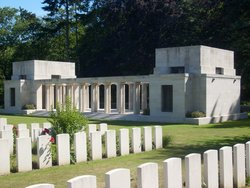 Buttes New British Cemetery (N.Z.) Memorial