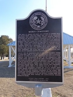 Merit Cemetery