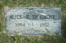 Alice M. <i>Erlougher</i> DeGroff