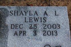 Shayla Ann Louise Lewis