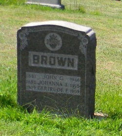 Johanna Theresia <i>Rebel</i> Brown
