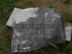 Mary Ann <i>Becker</i> Badgley