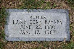 Habie Cone Haynes