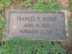 Frances <i>Herin</i> Boone
