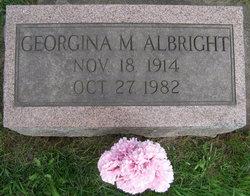 Georgiana M <i>Crane</i> Albright
