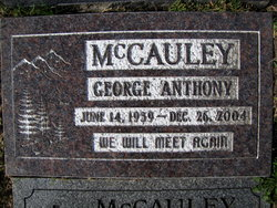 George Anthony Mccauley