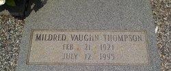 Mildred <i>Vaughn</i> Thompson