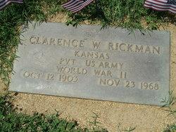 PFC Clarence W. Rickman