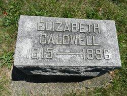 Elizabeth <i>Canutt</i> Caldwell