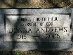 Donna Gladys <i>Dafoe</i> Andrews