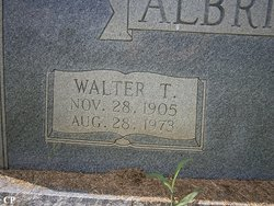 Walter Terrell Albright, Sr